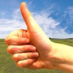 Thumbs up for Audioseminar en online trainingen